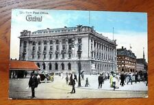 1912 The New Post Office Cleveland Ohio Antique Postcard - Used