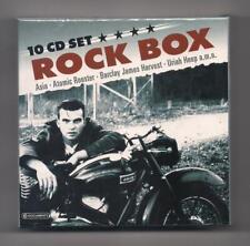 ROCK BOX 10 CD Box set SEALED Uriah Heep, Asia, Atomic Rooster, Ian Gillan,