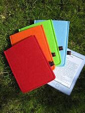 Kindle paperwhite 2015 Hülle Tasche Case Filz orange - NEU Unikat mega günstig