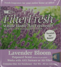 Filter Fresh Home Air Freshener Pads Lavender Bloom Qty 1