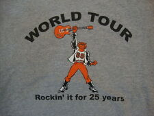 Jersey-Style Roadie 88 World Tour 25 Years Gray T Shirt L