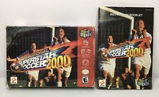 N64 International Superstar Soccer 2000 Spanish Box/Manual *Authentic* *No Game*