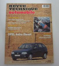 Revue technique automobile RTA 577 opel astra diesel
