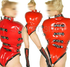 100% Latex Rubber Gummi Inflatable Leotard Body Unitard Swimsuit Catsuit Unique
