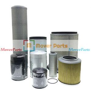 For Hitachi EX200-2 EX200-3 Engine 6BD1 (Air ,Fuel ,Oil ,Hydraulic) Filter