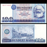 Democratic Germany 100 Mark, 1975, P-31a, banknote, UNC