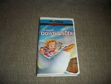 The Rescuers Down Under (VHS, 2000, Gold Collection Edition)