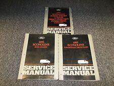 1995 Ford Econoline E350 Service Repair Manual 7.3L Power Stroke Turbo Diesel