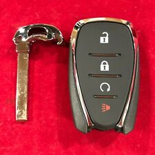 New OEM Virgin Chevy Smart Proximity Remote With Key 13585728 433MHz HYQ4EA