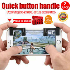 2x Phone Shooting Games Smartphone Mobile Gaming Trigger Handle for STG FPS TPS
