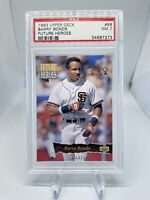 1993 Upper Deck Future Heroes Barry Bonds #56 PSA 7 Hall Of Fame ? SF Giants