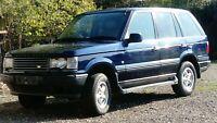 Range Rover P38 Diesel 2001 PRIVATE PLATE SPARES REPAIRS