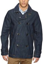 Henri Lloyd Denim Jacket RRP £250 Size Large Waterproof Reefer Coat BNWT