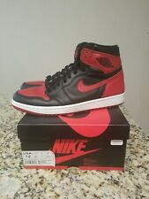Nike air jordan 1 retro high og banned bred size 12