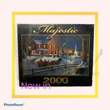 MAJESTIC 2000 PIECE JIGSAW PUZZLE Home For The Holidays