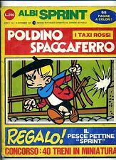 ALBI SPRINT # POLDINO SPACCAFFERRO # Anno I N.4 Settembre 1970 # Fratelli Crespi