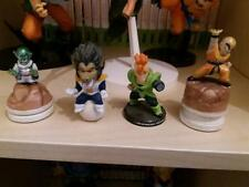 set de 4 gashapon dragon ball