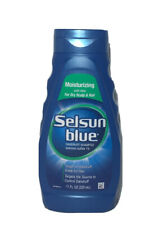 Selsun Blue Moisturizing With Aloe Dry Scalp & Hair Dandruff Shampoo, 11 fl oz.