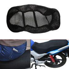 85 x 51cm Motorcycle Black 3D Seat Cover Net Waterproof  Heat insulation sleeve
