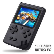 "Retro Mini Handheld Video Game Console Portable FC Classic Games Gift 3.0"" Black"