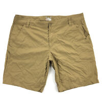 Under Armour Chesapeake Mens 42 Brown Hydro Series Fishing Shorts Nylon