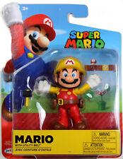 World of Nintendo ~ MAKER MARIO (WAVE 16) ACTION FIGURE ~ Super Mario Bros.