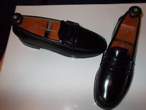 NWOB Florsheim Black Penny Loafers - 9.5D