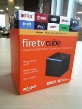 NEW SEALED 2021 AMAZON FIRE TV CUBE 4K HDR MEDIA STREAM ALEXA VOICE CONTROL 2ND