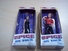 Miniature Galoob Spice Girl Dolls on Tour Victoria and Melanie C 1998 - in Boxes