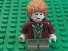 LEGO BILBO BAGGINS MINIFIGURE RED COAT LORD OF THE RINGS HOBBIT LOTR FIG