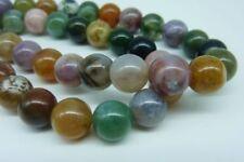 Glossy Gemstone Round Jewellery Making Beads