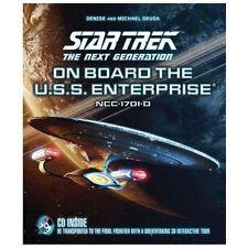 Star Trek the Next Generation: On Board the U.S.S. Enterprise + 3D Tour CD [NEW]