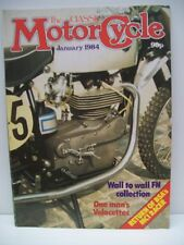 Classic Motor Cycle Magazine, 11 issues February to December 1984