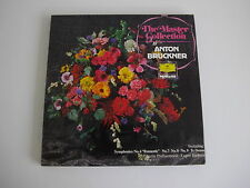 Bruckner The Master Collection DGG  6 LP Stereo  2736 005 NM+ LP Box