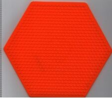 """Large  Hexagon Pegboard for Hama / Perler fuse beads 6.25"""" x 5.5"""" - NEW"""