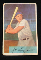 Vintage 1954 #28 Jim Greengrass Cincinnati Redlegs Card
