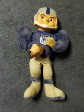 Vintage NFL Football 1960's Roko Plush Doll BALTIMORE COLTS W/LOGO Rare