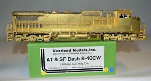HO Brass Santa Fe GE Dash 8-40CW 'Gull Wing' #800-866 Diesel OMI #5842 MINT