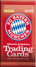 Panini - FC Bayern München Trading Card Kollektion 2017/18 - 1 Booster