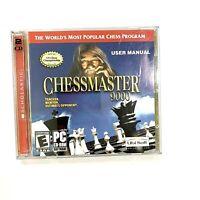 CHESSMASTER 9000 CHESS PC GAME CD-ROM 2002 WINDOWS 98 ME XP SCHOLASTIC VINTAGE