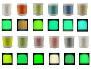 Glow In The Dark Thread Polyester Sewing Thread For Sewing Embroidery Multicolor