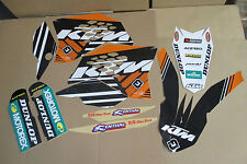 FLU  Team KTM PTS Graphics SX SXF XC XCF 07 08 09 10 & EXC XCWF XCW  08 09 10 11