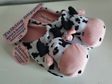 Talking Cow Slippers - RECORD YOUR OWN MESSAGE - Fun Hen Do Spa Day Slippers