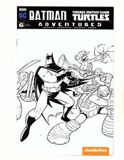 Batman/Teenage Mutant Ninja Turtles Adventures #6 (2017, Dc/Idw) Sketch Variant