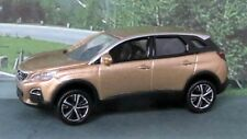 "2017 PEUGEOT 3008 1:60/3"" (Gold) NOREV Diecast Passenger Car Sealed"