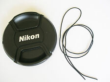 Nikon style LC-62 62 mm Centre Pinch Clip on Lens Cap pour Nikon