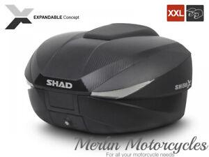 Shad SH58X Expandable 58 Litre Top Box Carbon + Inner Case