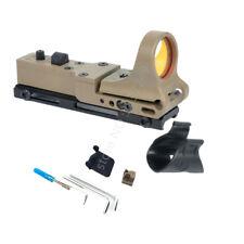 C-MORE Collimator Sight Railway Reflex Sight Adjustment Red Dot Sight-TAN