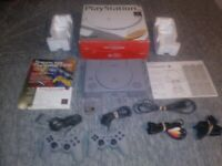 Sony Playstation 1 Console PS1 SCPH-5501 COMPLETE - TESTED - VERY NICE
