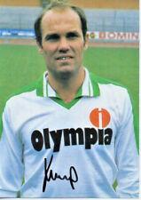 Autogramm - Karl-Heinz Kamp (Werder Bremen) - 1982/1983